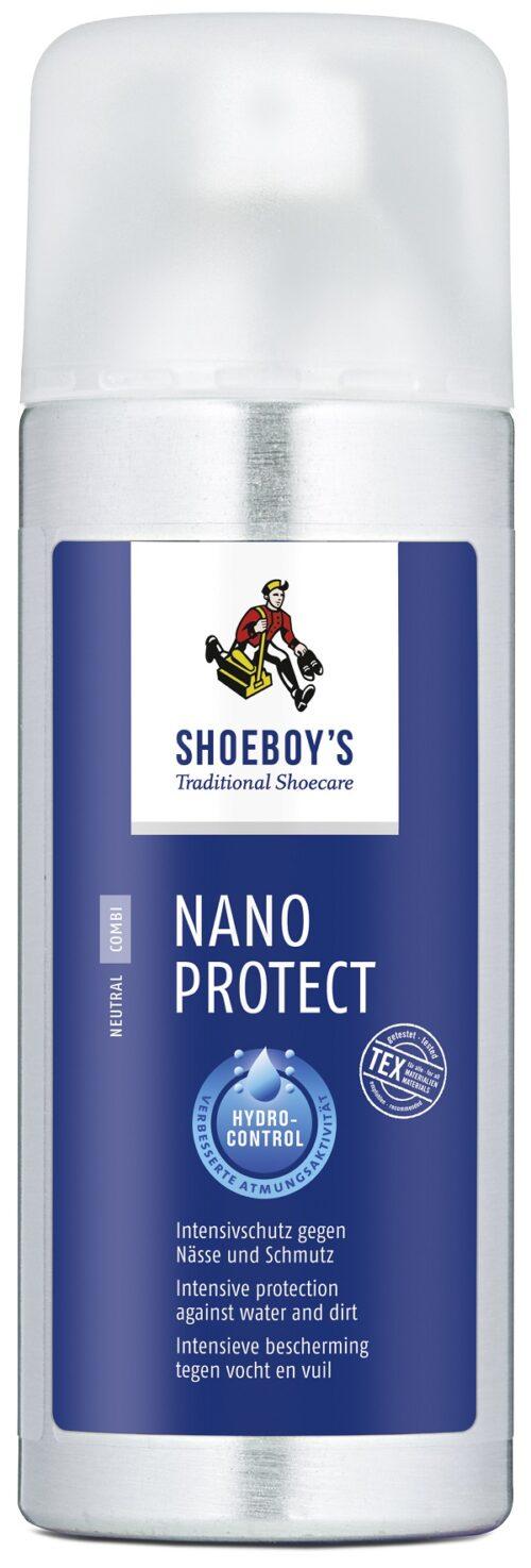 Schoeboys Nano Protect Stoot alle vuil en vocht af van het behandelde materiaal en blijft ademend